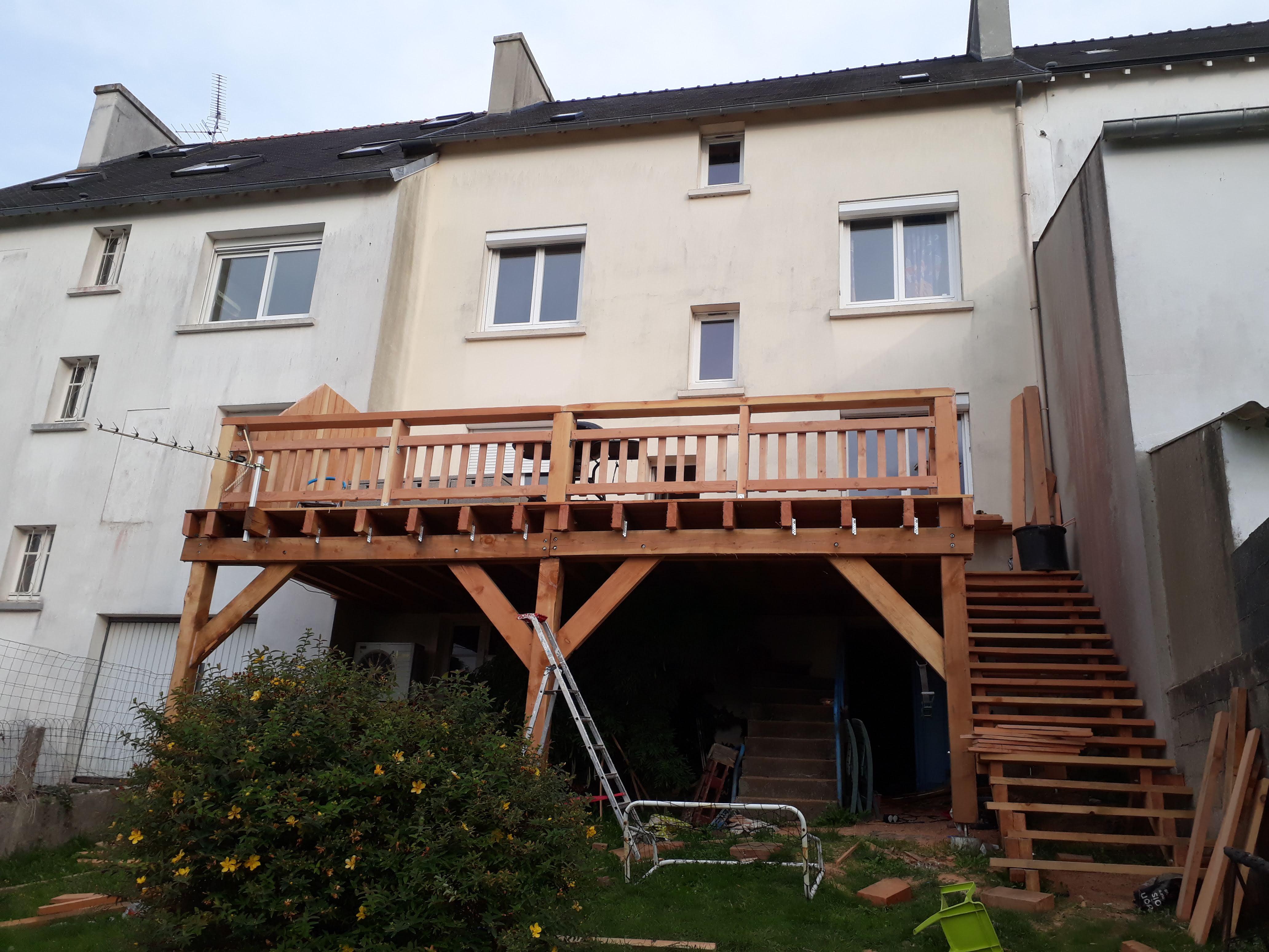 Construire Une Terrasse En Bois Surelevee terrasse sur pilotis - ▷ le guide des terrasses en bois