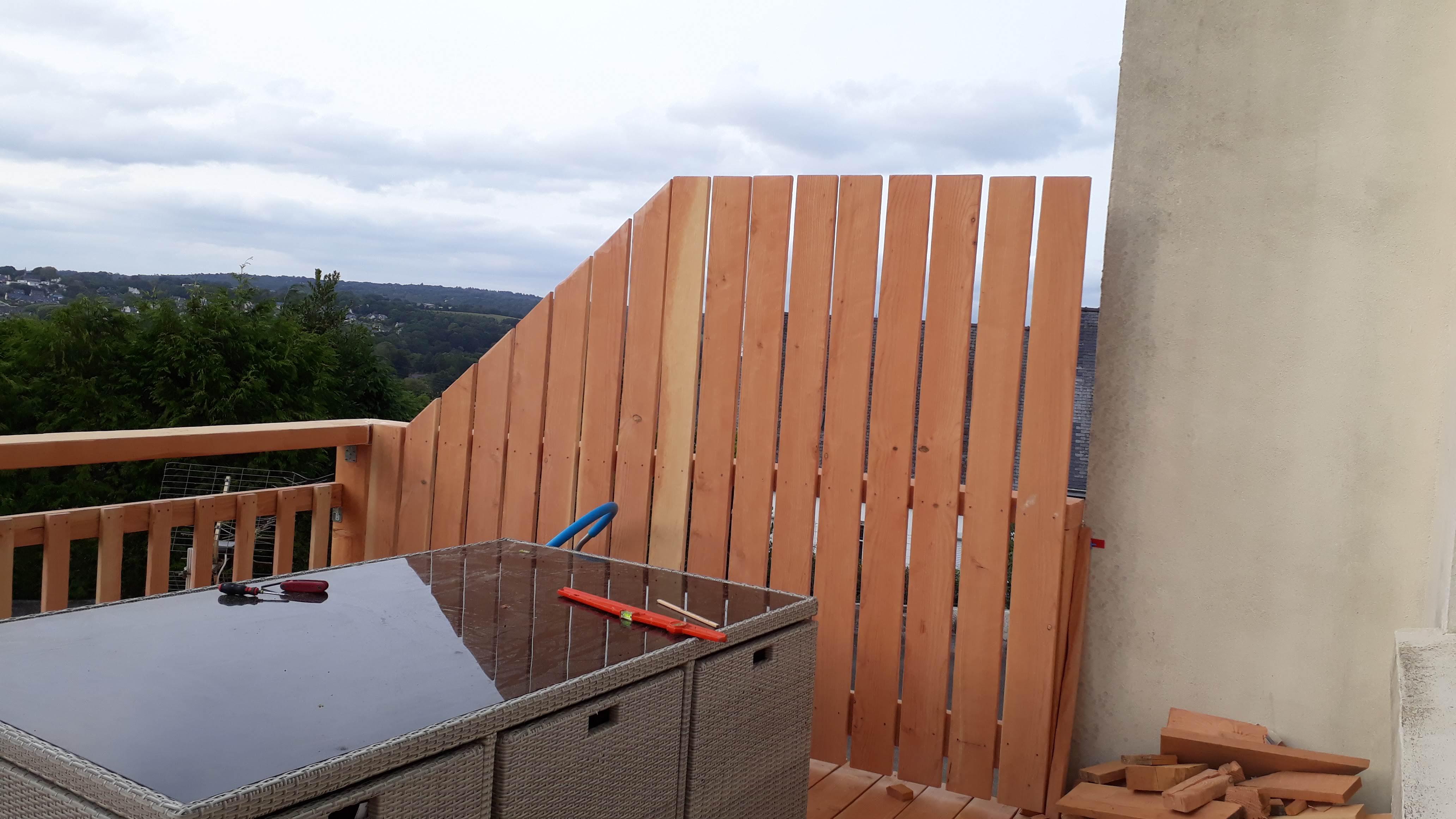Brise Vue A Faire Soi Meme terrasse sur pilotis - ▷ le guide des terrasses en bois
