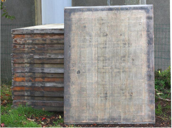 la pose sur dalle terrasse en bois comment construire. Black Bedroom Furniture Sets. Home Design Ideas
