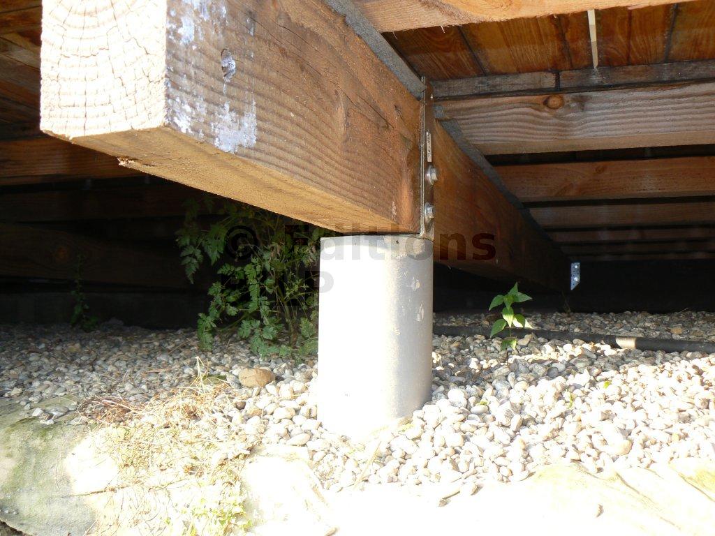 Conception terrasse en bois comment construire votre for Mur de terrasse en bois