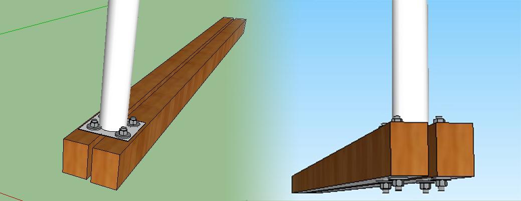part 4 mise en oeuvre et quipements terrasse en bois. Black Bedroom Furniture Sets. Home Design Ideas
