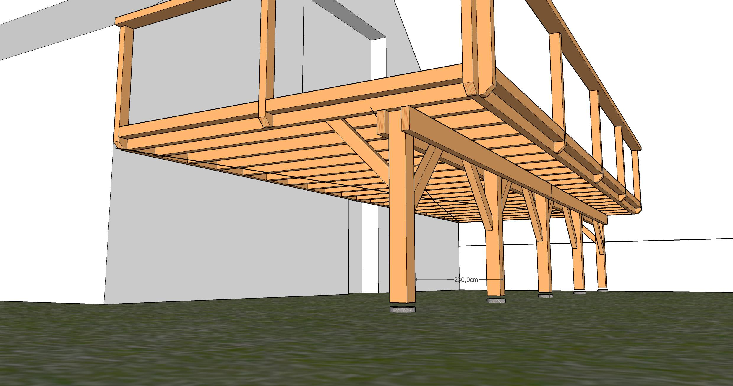 Plan Pour Terrasse En Bois Sur Pilotis Images Pictures to pin on