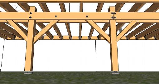 Pour d terminer la port e pp cliquez ici for Plan d une terrasse en bois sur pilotis