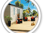 Terrasses pour Mobil-home