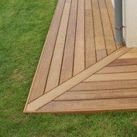 Réaliser Un Angle Sortant Le Guide Des Terrasses En Bois Pour