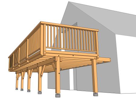 Part 3 Les Structures Le Guide Des Terrasses En Bois