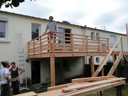 Terrasse Sur Pilotis TERRASSE EN BOIS Comment Construire Votre - Terrasse sur pilotis en bois